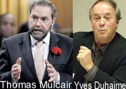Defamation Double-Jeopardy: Duhaime v Mulcair