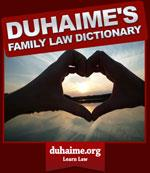 Family Law Dictionary