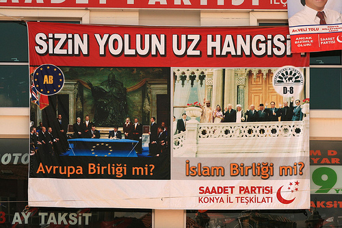 2007 Turkey election poster