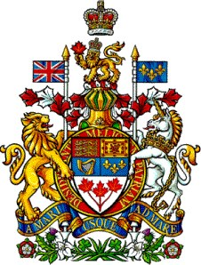 The Royal Arms of Canada, adopted by proclamation of King George V on 1921-11-21
