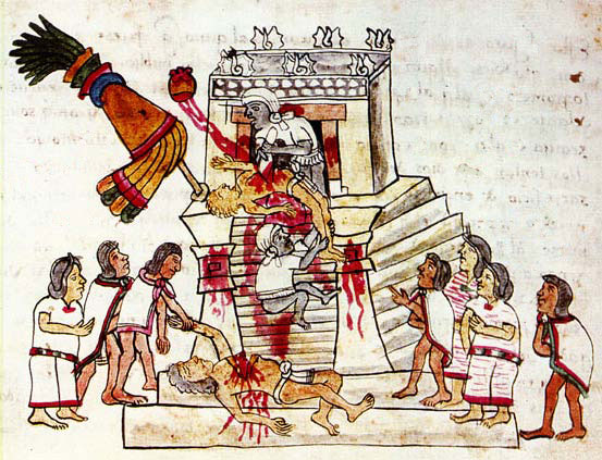 Human Sacrifice, Magliabechi Codex