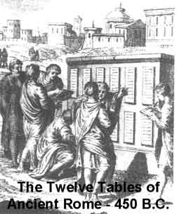 450 BC Twelve Tables