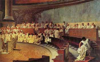 Cicero in the Senate