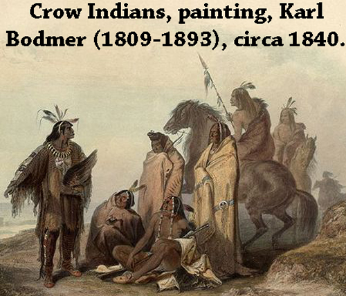 Crow Indians, USA