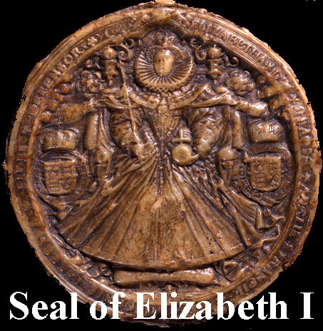 seal of Elizabeth I