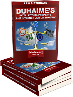 Intellectual property and Internet law Dictionary