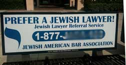 [Jewish lawyer ad]