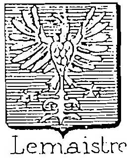 Lemaistre coat of arms