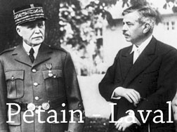 Petain and Pierre Laval