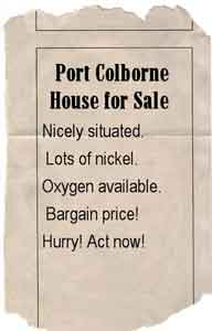 Port Colborne house ad