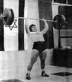 David Berger weight lifting