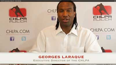 George Laraque, CHLPA