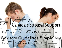 Spousal Suport Advisory Guidelines