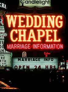 wedding chapel in Las Vegas