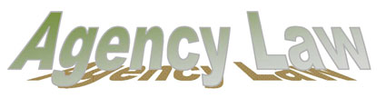 Agency Law banner