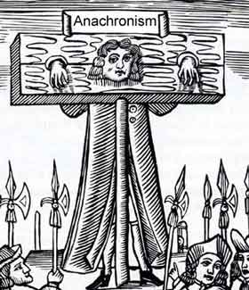 Anachronism pillory