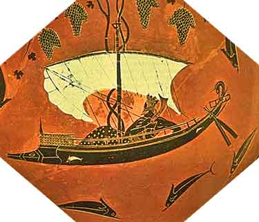 Ancient Greek Ship