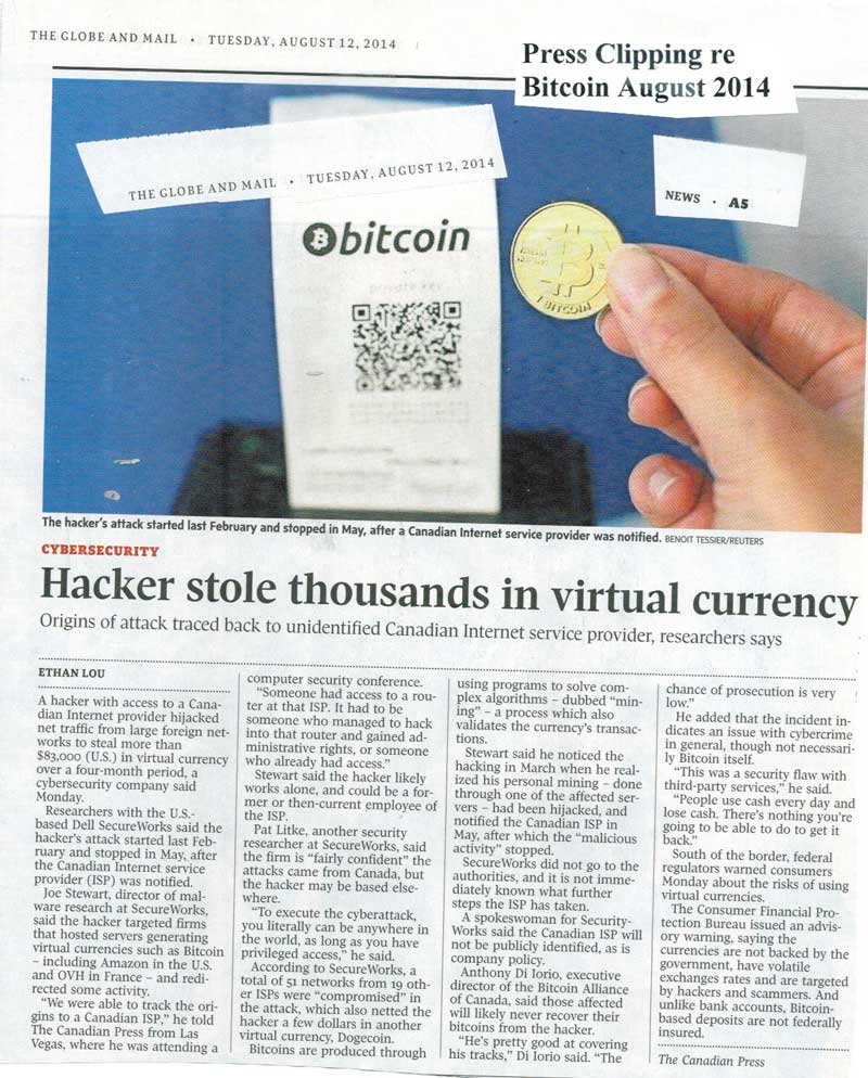 12014-08 014-08 press clipping on Bitcoin