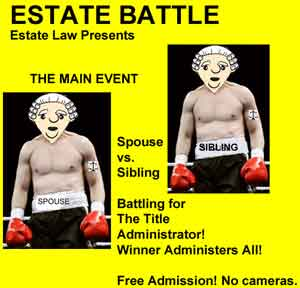 estate battle