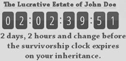 survivorship countdown clock