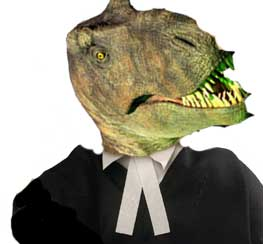 Dinosaur lawyer