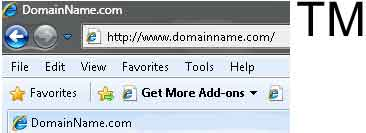 domain name v TM