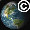 Earth copyright