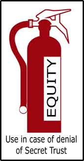 Equity extinguisher