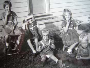 kids with cigars