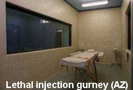 death penalty gurney