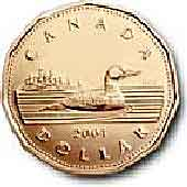 $1 coin