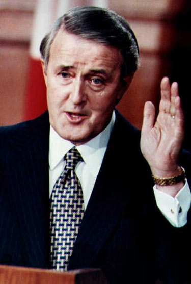 a biography of martin brian mulroney the 18th prime minister of canada 18 of23 sub chapter no prime ministers brian mulroney next sub chapter   like pierre trudeau (1919-2000) before him, brian mulroney was a deeply   inspired by president ronald reagan (1911-2004) in the united states and  margaret  name: martin brian mulroney born: march 20, 1939, baie-comeau,  quebec.