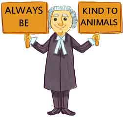 Kind to Animals Roger