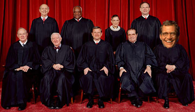 Supreme Court with Letterman