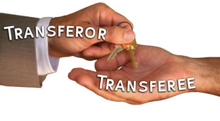 the transferee recieve what the transferor transfers