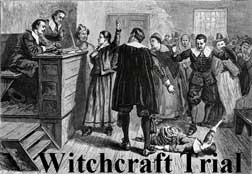 witchcraft trial