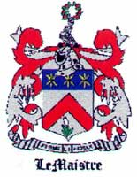 Lemaistre coat of arms #2