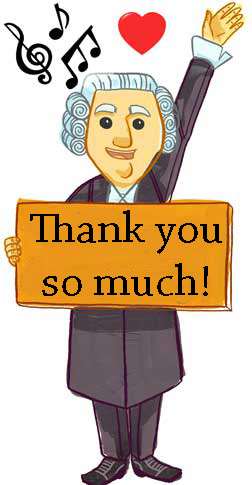 Thanks from Roger the Barrister